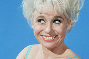 Barbara Windsor. Copyright: Rex.
