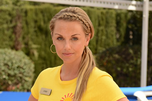 Benidorm. Amber (Jessica Ellerby). Copyright: Tiger Aspect Productions.