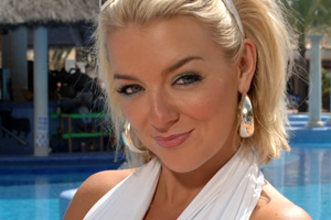 Benidorm. Brandy (Sheridan Smith). Copyright: Tiger Aspect Productions.