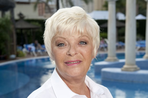 Benidorm. Janey York (Crissy Rock). Copyright: Tiger Aspect Productions.
