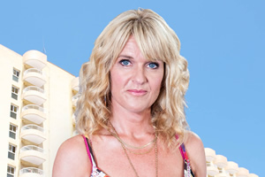 Benidorm. Janice Garvey (Siobhan Finneran). Copyright: Tiger Aspect Productions.