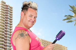 Benidorm. Kenneth (Tony Maudsley). Copyright: Tiger Aspect Productions.
