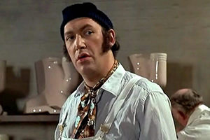 Carry On At Your Convenience. Bernie Hulke (Bernard Bresslaw). Copyright: Peter Rogers Productions.