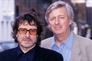 Image shows from L to R: Ian La Frenais, Dick Clement.