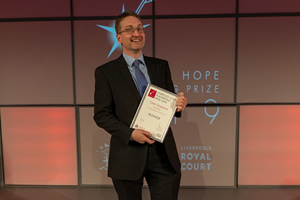The Liverpool Hope Playwriting Prize. Colin Dowland.