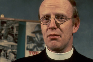 Dad's Army. The Vicar (Frank Williams). Copyright: BBC.