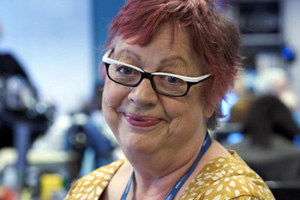 Damned. Rose Denby (Jo Brand). Copyright: What Larks Productions.