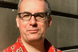 52 First Impressions With David Quantick. David Quantick. Copyright: Giddy Goat Productions.