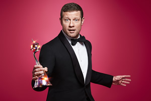 National Television Awards. Dermot O'Leary. Copyright: ITV.