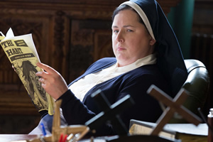 Derry Girls. Sister Michael (Siobhán McSweeney). Copyright: Hat Trick Productions.