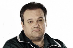 Extras. Barry off EastEnders (Shaun Williamson). Copyright: BBC.