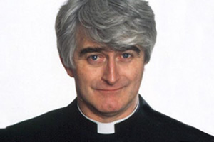 Father Ted. Father Ted Crilly (Dermot Morgan). Copyright: Hat Trick Productions.