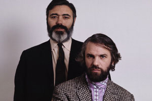 Image shows from L to R: Alan Simpson, Ray Galton. Copyright: Getty Images / Tony Evans.