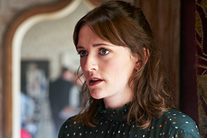 Ghosts. Alison (Charlotte Ritchie). Copyright: Monumental Pictures.