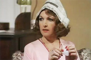 The Good Life. Margo Leadbetter (Penelope Keith). Copyright: BBC.