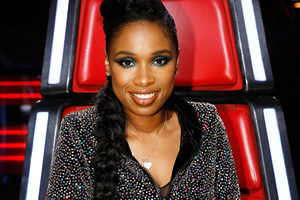 The Voice UK. Jennifer Hudson.