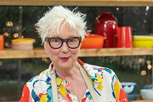 The Great Celebrity Bake Off for Stand Up To Cancer 2020. Jenny Eclair. Copyright: Channel 4 Television Corporation.