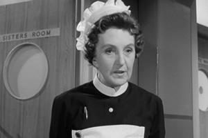Carry On Loving. Mrs Grubb (Joan Hickson). Copyright: Peter Rogers Productions.