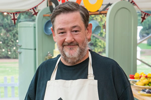 Johnny Vegas glamping series