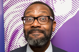 BBC Audio Drama Awards 2015. Lenny Henry. Copyright: BBC.