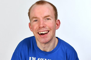 Lee Ridley hard working comic
