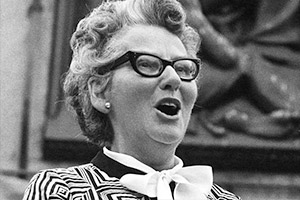 Mary Whitehouse.