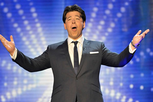 Michael McIntyre as a judge on Britain's Got Talent. Michael McIntyre. Copyright: TalkbackThames / REX / Shutterstock.