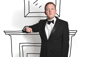 Miles Jupp in Party's Over
