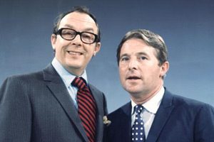 The Eric Morecambe And Ernie Wise Show. Image shows from L to R: Eric Morecambe, Ernie Wise. Copyright: BBC.