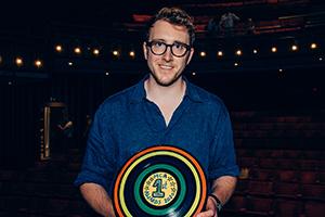 Alex MacKeith wins at Musical Comedy Awards