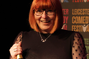 Nina Gilligan wins Leicester Mercury Comedian Of The Year 2021