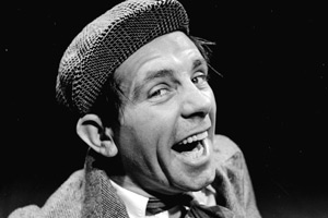Norman Wisdom. Copyright: Getty Images.