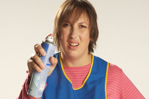 Not Going Out. Barbara (Miranda Hart). Copyright: Avalon Television.