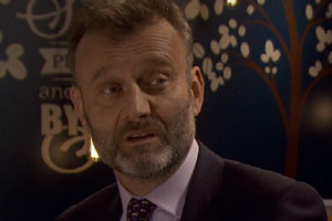Not Going Out. Toby (Hugh Dennis). Copyright: Avalon Television.