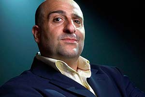 Omid Djalili - Hopeful: The Autobiography. Omid Djalili. Copyright: BBC.