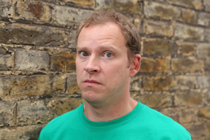 Peep Show. Jeremy Usbourne (Robert Webb). Copyright: Objective Productions.