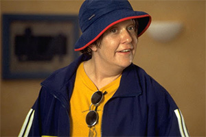 Kevin & Perry Go Large. Perry (Kathy Burke). Copyright: Tiger Aspect Productions.
