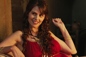 Plebs. Gloria (Ellie Taylor). Copyright: RISE Films.