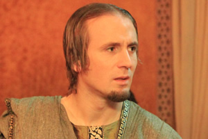 Plebs. Aurelius (Tom Basden). Copyright: RISE Films.