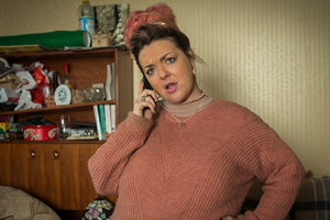 Ratburger. Sheila (Sheridan Smith). Copyright: King Bert Productions.