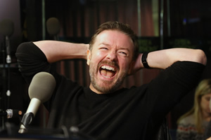 Ricky Gervais on iTunes