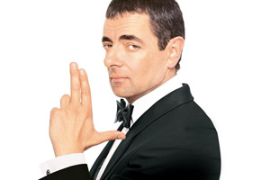 Johnny English. Johnny English (Rowan Atkinson). Copyright: Universal Pictures.