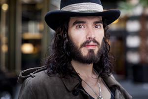 Russell Brand. Copyright: BBC.