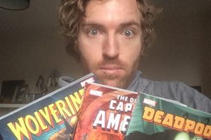 Russell Hicks on comic books and novel comedy broadcasts