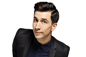 Russell Kane hosts Rage Room
