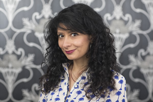 Shappi Khorsandi. Copyright: Heathcliff O'Malley.