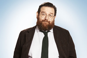 Sick Note. Dr Ian Glennis (Nick Frost). Copyright: King Bert Productions.