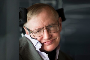 Stephen Hawking in H2G2