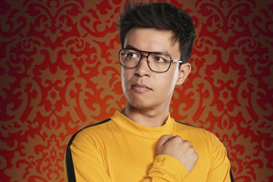 Taskmaster. Phil Wang. Copyright: Avalon Television.