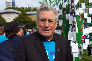 Terry Jones on Memory Walk